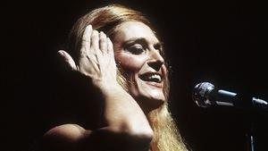 La chanteuse Dalida en 1980