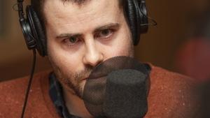 Vincent Larouche au micro d'Isabelle Craig.