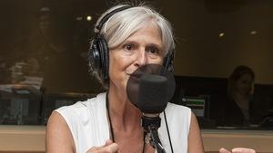 Marie Barguidjian au micro de Catherine Perrin