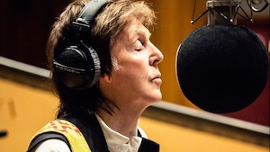 Paul McCartney en studio.