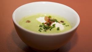 Soupe aux pois traditionnelle revisitée par Bob le chef.
