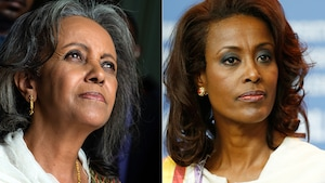 Sahle-Work Zewde, nouvelle président d'Éthiopie, et Meaza Ashenafi, nouvelle dirigeante de la Cour Suprême du pays.