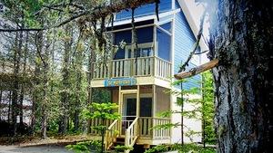 Hébergement de type nichoir au Parc nature de Pointe-aux-Outardes