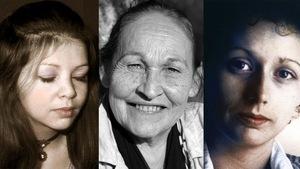 Portraits de Huguette Gaulin, Joséphine Bacon, Marie Uguay.