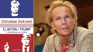 La journaliste Christine Ockrent, à Paris, le 7 octobre dernier, a publié cet automne Clinton/Trump : L'Amérique en colère.