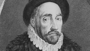 Le philosophe Michel de Montaigne vers 1580.