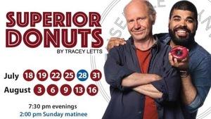 Affiche pour le spectacle Superior Donuts