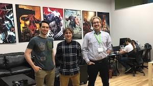 Ian Bussières, Alexis Huard et Félix-Antoine Huard