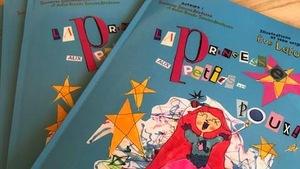 livre «La princesse aux petits...poux»