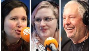 Tanya Beaumont, Catherine Genest et Serge Drouin