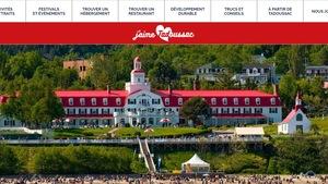 Nouveau site web touristique de Tadoussac