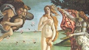 La naissance de Vénus de Botticelli (détail)