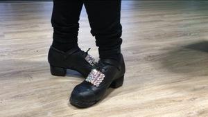 Des chaussures de danse irlandaise