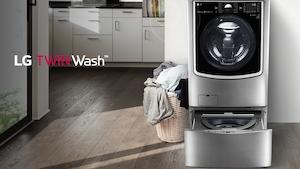 La laveuse intelligente Twin Was de LG.