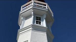 Le phare du Cap-Jourimain.