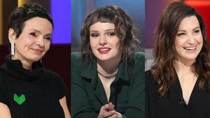 Anaïs Barbeau-Lavalette, Kelly Depeault et Geneviève Pettersen dans un montage de photos qui les réunit toutes les trois.