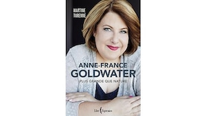 Anne-France Goldwater en couverture.