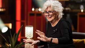 Denise Filiatrault est en entrevue à Bonsoir bonsoir.