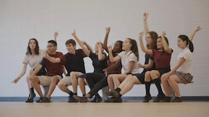 L'équipe Crescendo du collège Mont Saint-Louis.