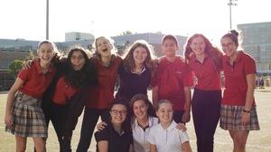 L'équipe Crescendo du collège Letendre.
