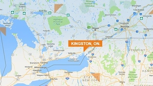 Carte de la ville de Kingston