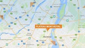 Carte du Plateau-Mont-Royal