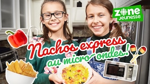 Nachos express au micro-ondes