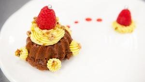 Petits gâteaux au chocolat.