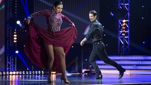 Ariane Castellanos et Yan Rompré mettent à profit leur intensité avec un brillant paso doble.