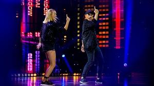 Julie Ringuette et Pascal Morrissette dansent un hip- hop
