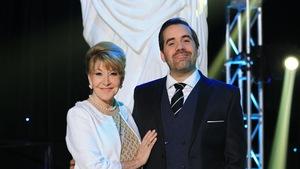 Louise DesChâtelets et Jean-Sébastien Girard sont très élégants et souriants