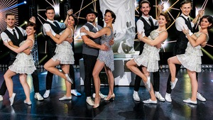 Marie Turgeon et Louis-Philippe Dandenault sur le plancher de danse