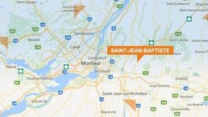 La municipalité de Saint-Jean-Baptiste