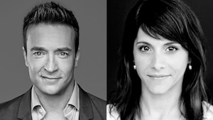 Mario Tessier et Anaïs Favron
