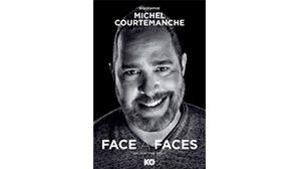 Gros plan sur le visage de Michel Courtemanche qui sourit.