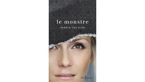 Le visage d'Ingrid Falaise en couverture du livre.