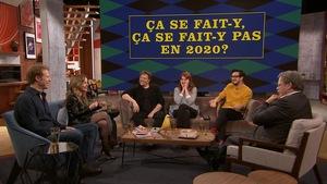 Les invités sur le plateau de l'émission On va se le dire.