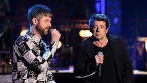 Ils chantent ensemble sur le plateau de Bonsoir bonsoir.