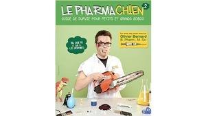 En couverture, Olivier Bernard avec une petite scie mécanique. Il a l'air amoché.