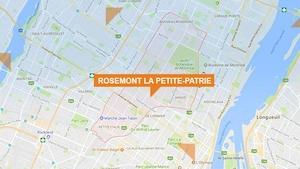 Une carte Google de Rosemont La-Petite-Patrie