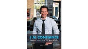 Simon Jolin-Barrette en couverture du livre.