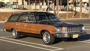 Une Matador AMC 1978, brune.