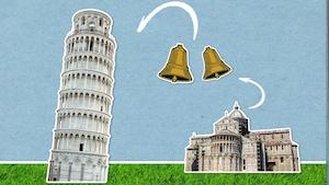 Pourquoi la tour de Pise est-elle penchée?