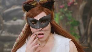 129 - La femme chat-sauvage et le livre des énigmes