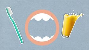 Pourquoi le jus d'orange a-t-il mauvais goût après qu'on se soit brossé les dents?