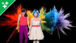 Vidéoclip - Les couleurs de l'arc-en-ciel