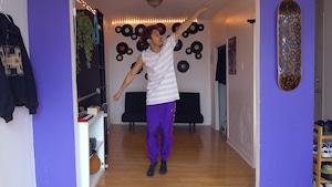 Cheerleading avec Rahmane Belkebiche