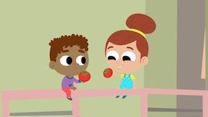 Pommes, raisins secs, oignons, oh non!