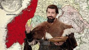 Cuisine, roi du Danemark et vikings