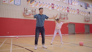Jouer au ballon-chasseur